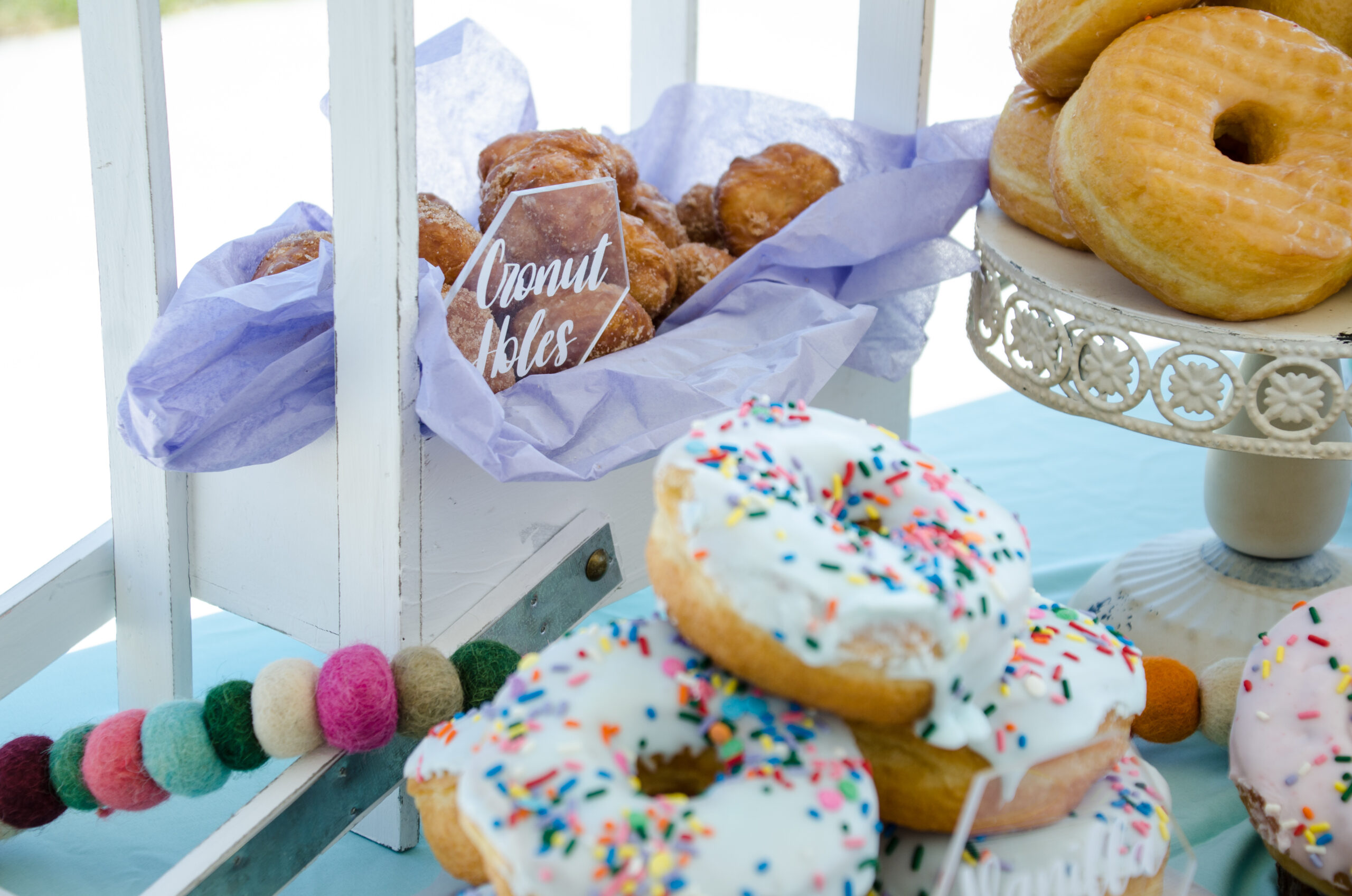 Simple & Fun Donut Themed Birthday Party